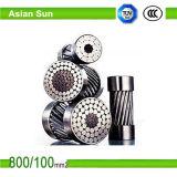 Acier plaqué en aluminium de conducteur d'ACSR/Aw-Aluminum renforcé