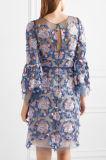 2017 роскошных женщин вышили фабрике одежды платья Tulle для вашего собственного логоса