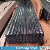 folha de aço da telhadura de 0.13mm-6.0mm Galvanzied, folha ondulada galvanizada da telhadura