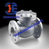 ANSI/API/DIN水オイルの振動フランジのステンレス鋼の小切手弁
