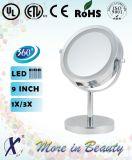Espejos encendidos caras dobles de 6 pulgadas para el maquillaje (D633)