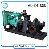 Pompe centrifuge diesel de double aspiration de 6 pouces pour l'irrigation d'inducteur