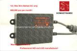12V/24V 최고 좋은 품질 24 달의 보장에 의하여 숨겨지는 호리호리한 밸러스트
