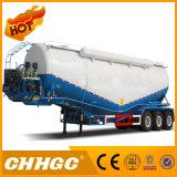 remorque en bloc inoxidable de camion-citerne de la farine 48cbm