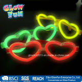 Multi Color Glow Sticks Heart Shaped Glasses-Licht-Partei