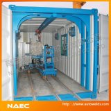 Containerisiertes Pipe Fabrication Machine und System
