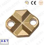 Produto de bronze do forjamento da precisão feita sob encomenda profissional do projeto