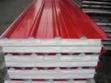 Feuille en acier ondulée galvanisée de toiture enduite par couleur
