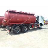 Euro3 배출 기준 15m3 Sinotruk 6X4 흡입 하수 오물 유조 트럭 (ZZ1257M4647C)