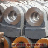 高いクロム鋳鉄の摩耗のハンマー(席)