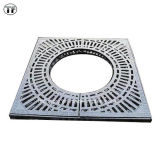 Kundenspezifisches Size Square Ductile Iron Tree Gratings mit Square Frame En124