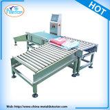 Peseuses de contrôle automatiques de nourriture de bande de conveyeur de vente chaude