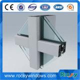 Perfil de alumínio da parede de cortina de Customed do vário revestimento de superfície por atacado