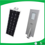 La Chine Manufacturer 5 Years Warranty Outdoor 6W-100W All dans One Solar DEL Street Light avec Camera/CE, RoHS, IP65, OIN Approved