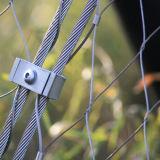 소매 Ss304 밧줄 메시 케이블을%s 가진 스테인리스 그물은 Crossnet 그물로 잡는다