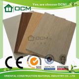 Hoja de madera decorativa de la decoración de la pared del panel de pared