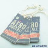 Hangtag di /Paper della modifica di caduta di alta qualità/Hangtag del tessuto/contrassegno dell'indumento