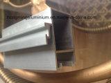 Profils en aluminium de anodisation de bâti d'extrusion pour Windows et la porte