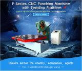 Машина CNC маркетинга пробивая подавая для ворота