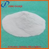 Microesfera activada del alúmina usada en estrato fluidificado
