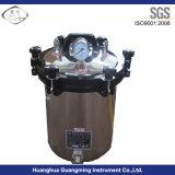 Autoclave portatif de stérilisateur de pression de vapeur d'acier inoxydable