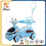 Кремний новой модели катит автомобиль малышей электрический с штангой Pus