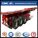 Cimc Lato-Tipping Semi Trailer di Huajjun 40FT 3axle Gooseneck