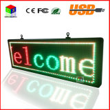 "P10 53 ""X15"" RGB LED de visualización al aire libre / Wireless / USB / Wireless Mobile signos de programable por ordenador"