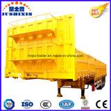Высокопрочный трейлеров общего назначения тележки стены стали 3axles 50ton 13m (40FT) бортовой/груза бортовой доски