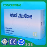 Lunghezza 240mm Powdered Natural 100% Latex Examination Gloves