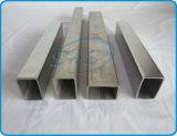 Pipes rectangulaires soudées par Rhs d'acier inoxydable