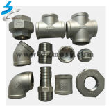 Stainless personalizado Steel Pipe Connector Coupling em Pipe Fittings