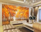 Картина маслом ландшафта пейзажа осени Sugarbush на холстине