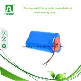 батарея иона лития 18650 11.1V 2200mAh для улавливателя пыли