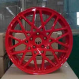 Mooi Rood Geel Rotiform Wiel met Uitstekende kwaliteit