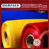 Matériaux en plastique tissés par tissu lourd de bâche de protection de tissu de polyester