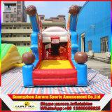 Juego inflable del deporte del lanzamiento del aro de baloncesto con alta calidad