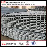 Vor-Galvanisiertes rechteckiges/quadratisches Stahlgefäß mit Beschichtung des Zink-120G/M2