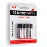 Супер батарея качества AAA/LR03 сухая