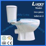 Tocador de dos piezas del baldeo de las mercancías sanitarias del cuarto de baño