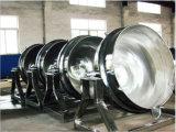Aço inoxidável 150L que inclina cozinhando a chaleira