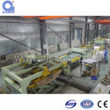 Galvanized frio/Quente-rolado Steel Cut a Length Line Machine