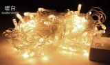 Corda de 10 medidores da luz feericamente psta solar de 100 diodos emissores de luz