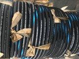 Mangueira de borracha trançada de borracha hidráulica do fio de aço da mangueira da alta qualidade padrão do RUÍDO & do SAE em China