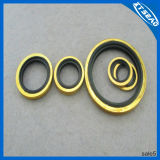 Rubber e Metal galvanizzati Bonded Washer