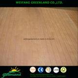 Tarjeta de la ranura de la madera contrachapada para la decoración o los muebles