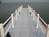 Embarcadero de flotación plástico del dique flotante