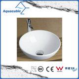 Dispersore di lavaggio del Governo del bacino di ceramica di arte e della mano superiore di vanità (ACB8192)