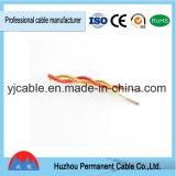 Arame encalhado elétrico com conduta de cobre, cabo elétrico torcido
