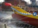 D2.0m * Saco hinchable de lanzamiento aprobado CCS resistente de la nave de goma de L18m de la venta de fabricante